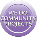 Community Projects Button
