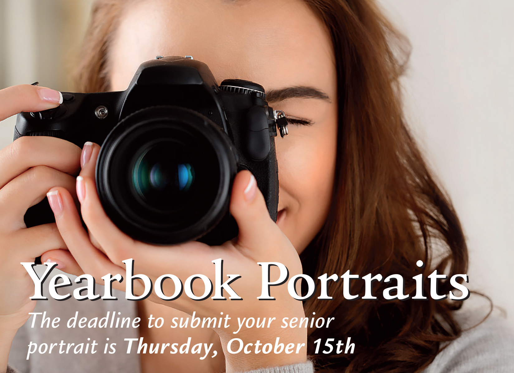 2020-2021 Yearbook Portraits Ad 3
