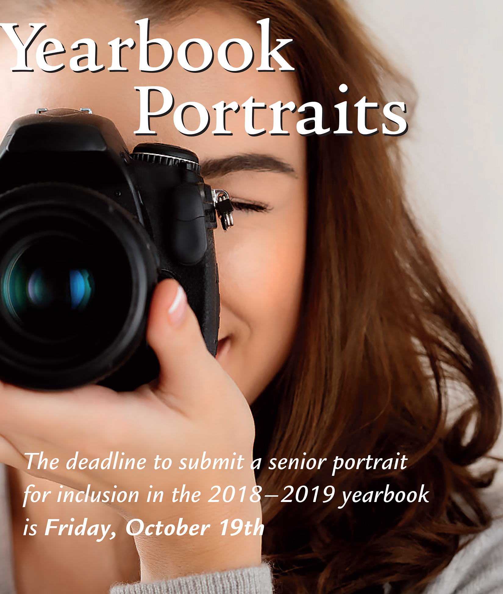 Yearbook Portraits Ad