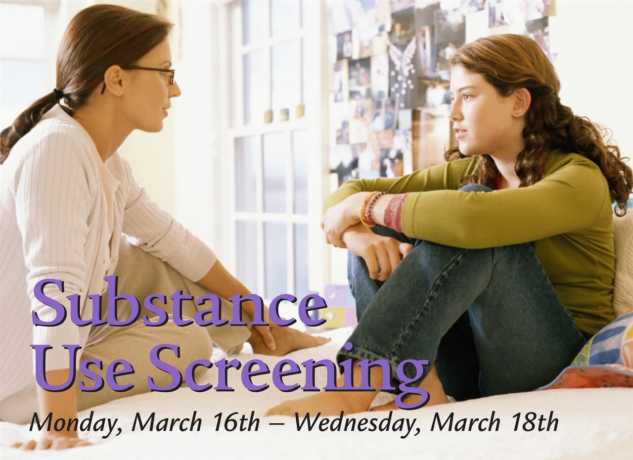 Substance Use Screening Ad