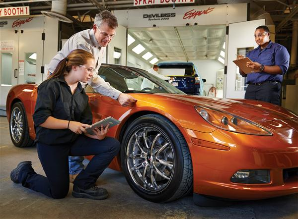 Vocational Programs Automotive Collision Repair Refinishing