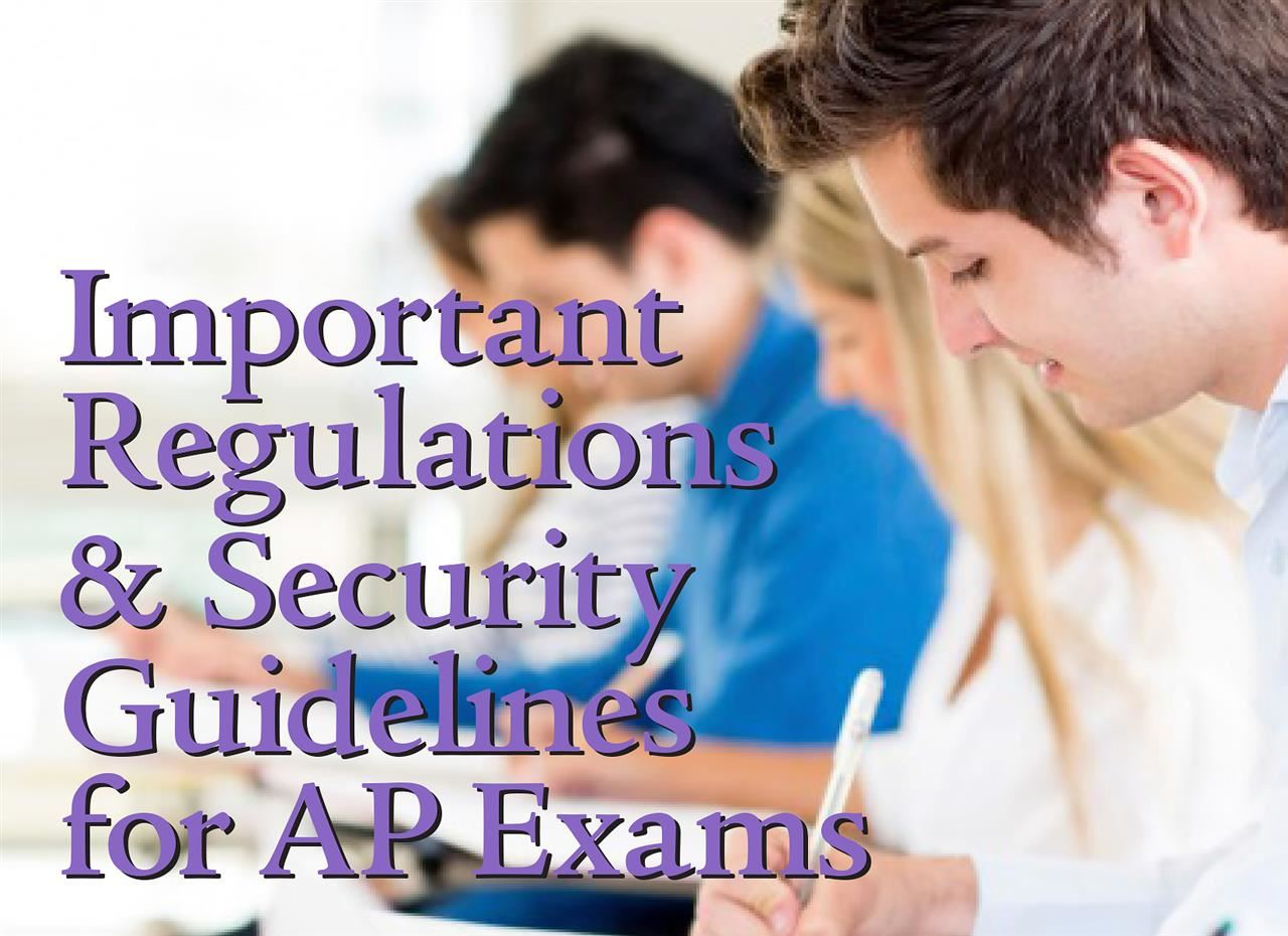 AP Regulations Security Guidelines Ad