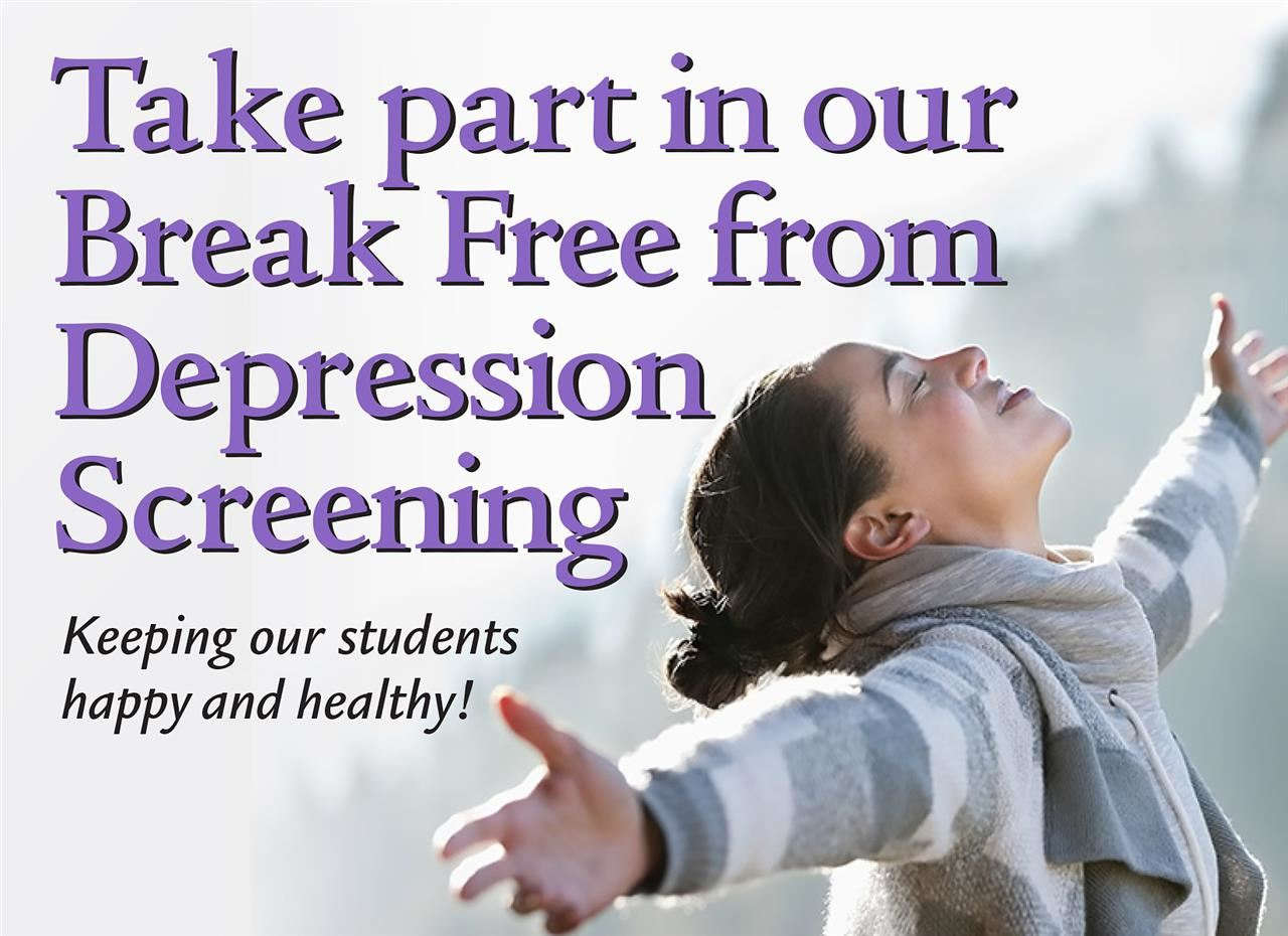 Break Free from Depression Ad
