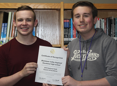 Student Council Earns National Recognition