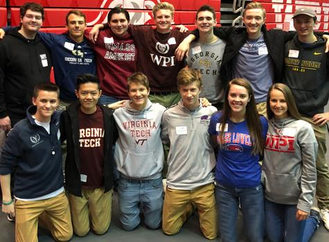 BVT Seniors at STEM Signing Day
