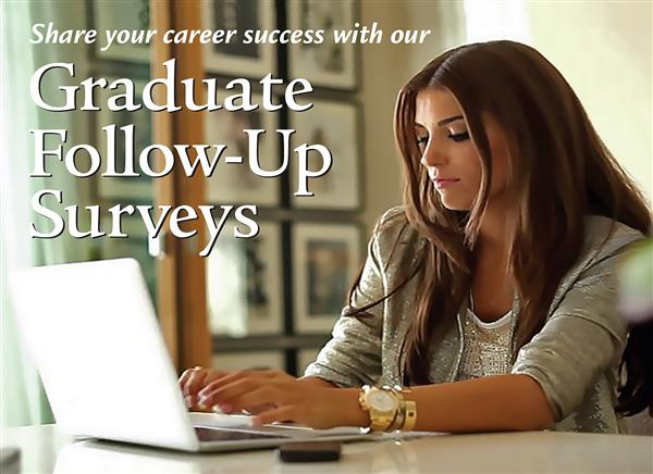 Graduate Follow-Up Surveys Ad